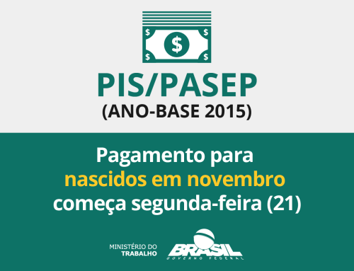 Abono salarial ano-base 2015 começou a ser pago para nascidos em novembro